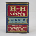 H and H Spices Ginger 1.5oz.