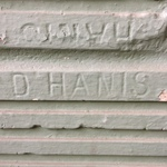 Painted D Hanis Bricks