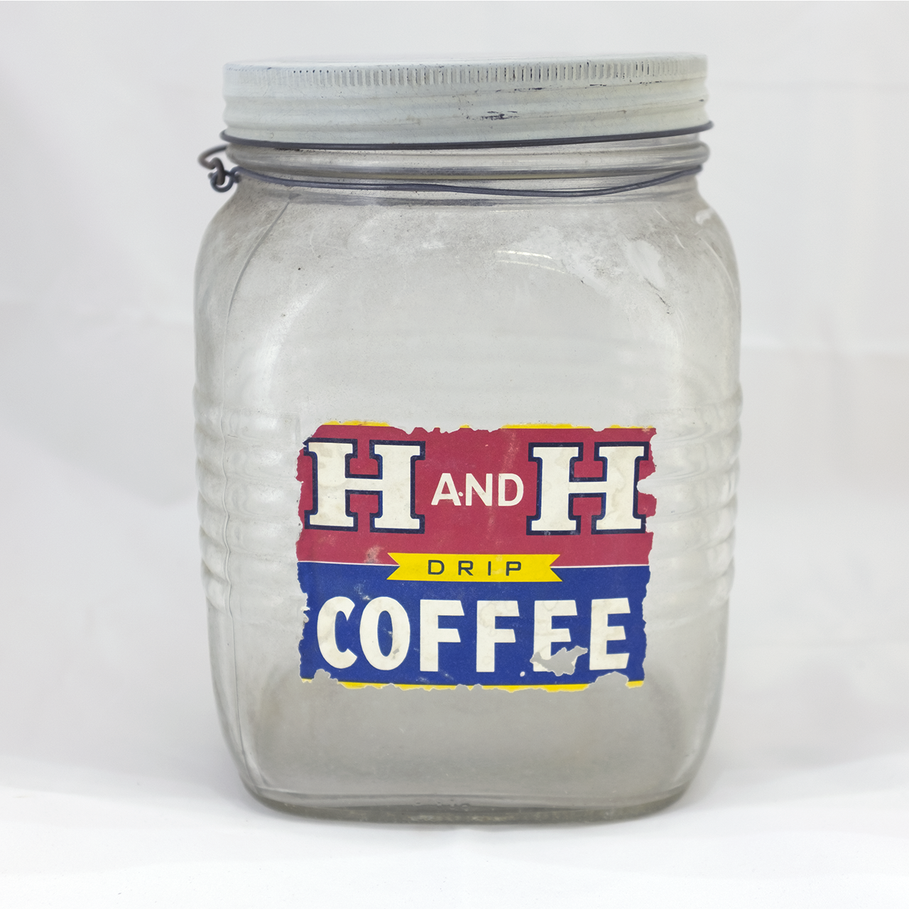 H and H Coffee 3 Pound Jar