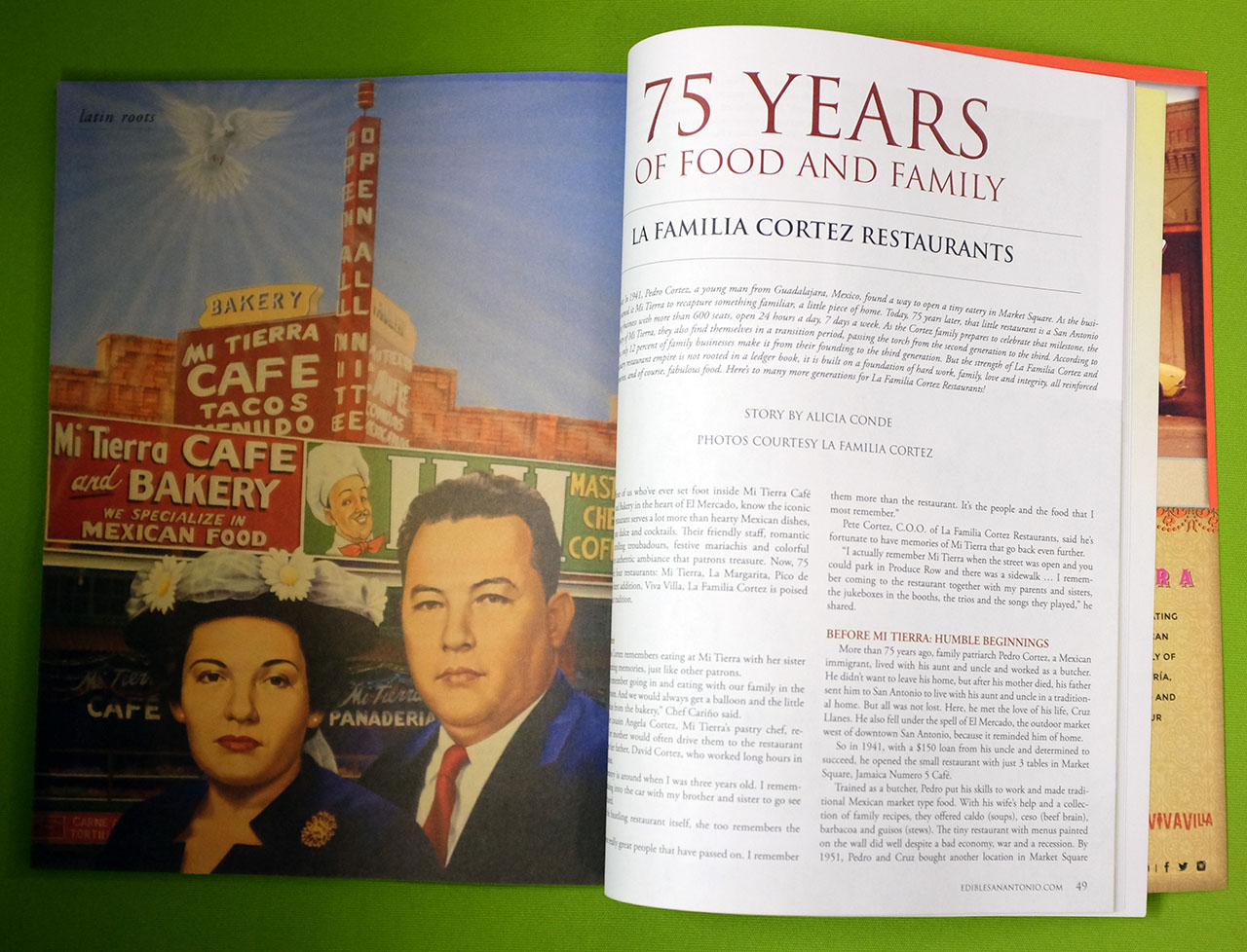 Edible San Antonio - 75 Years of Food and Family