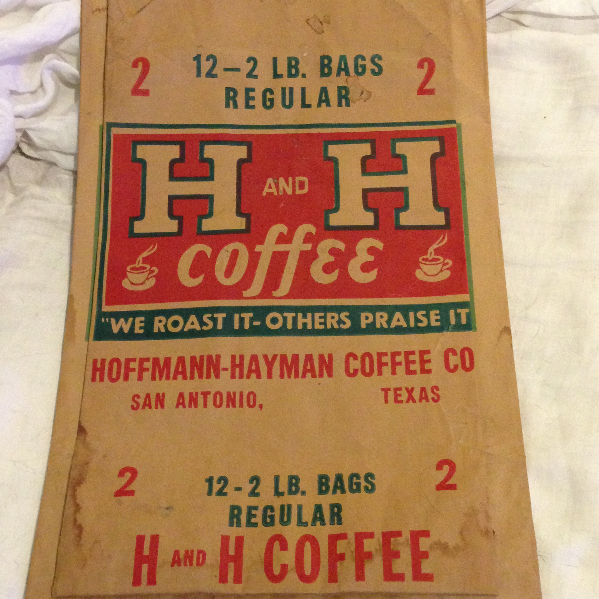 H and H 12-2lbs Bags