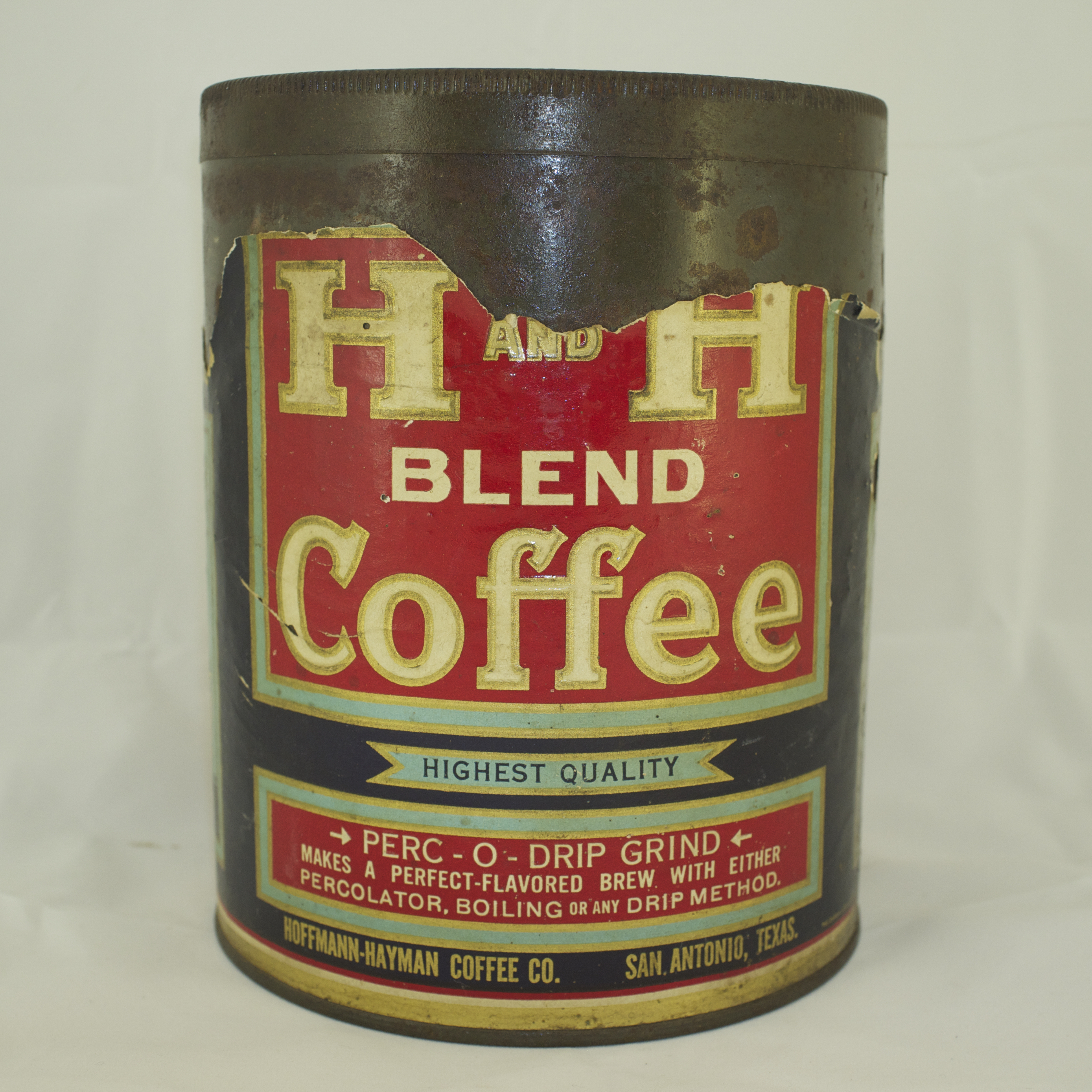 H and H Coffee Blend 2.5lbs Tin