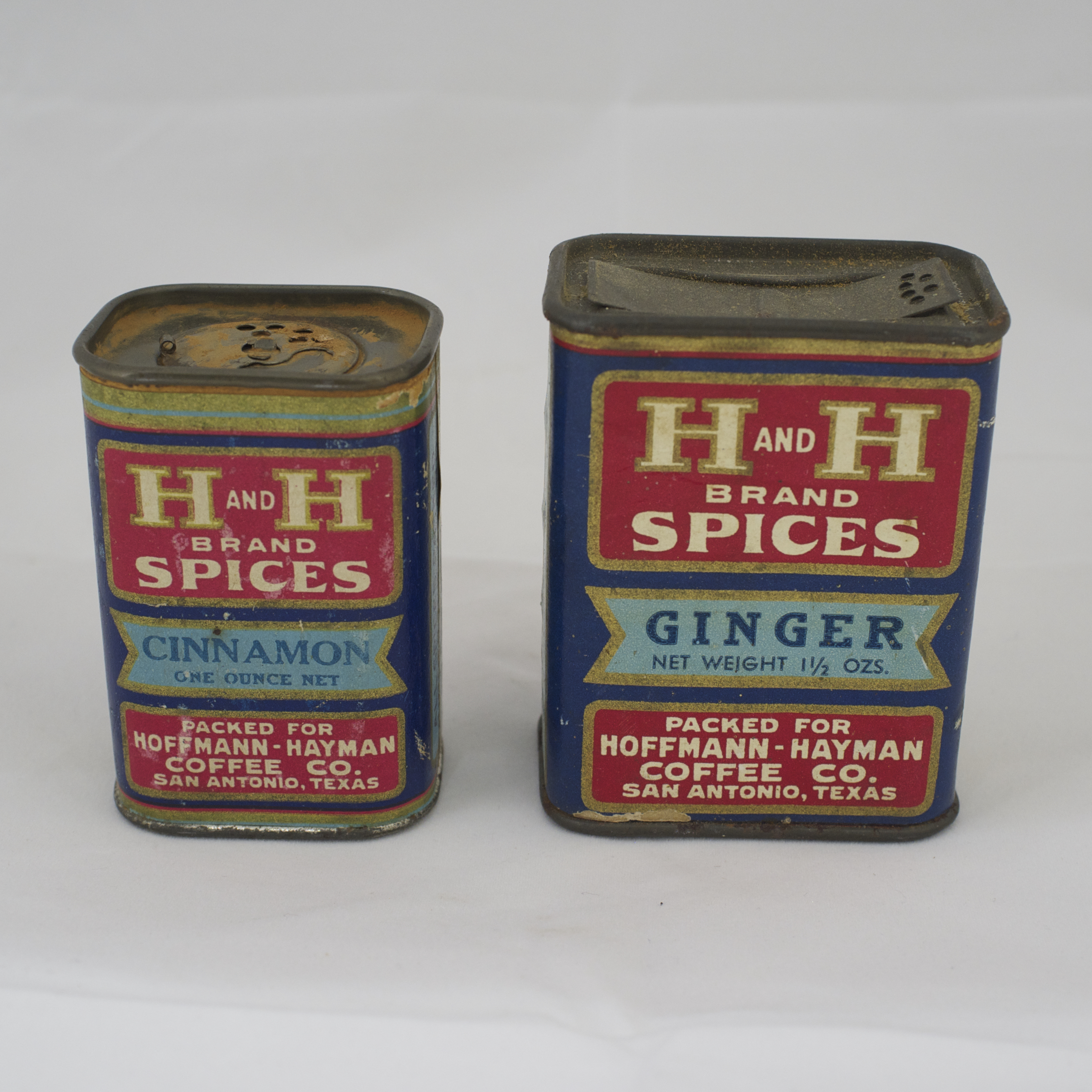 H and H Spices - Cinnamon 1oz, Ginger 1.5oz