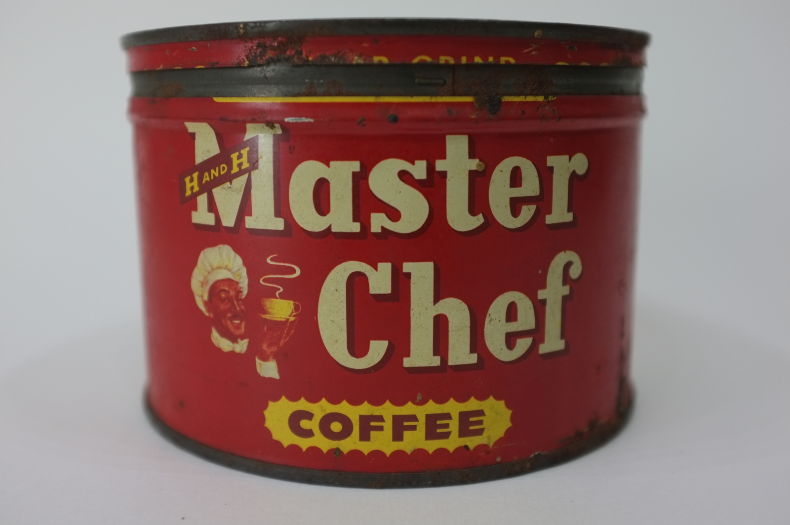 Master Chef One Pound Tin